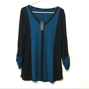 cable and Gauge Blouse size large